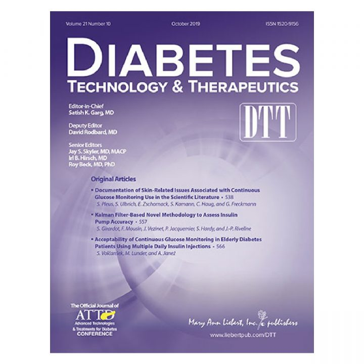 S. Girardot publishes in Diabetes Technol Ther