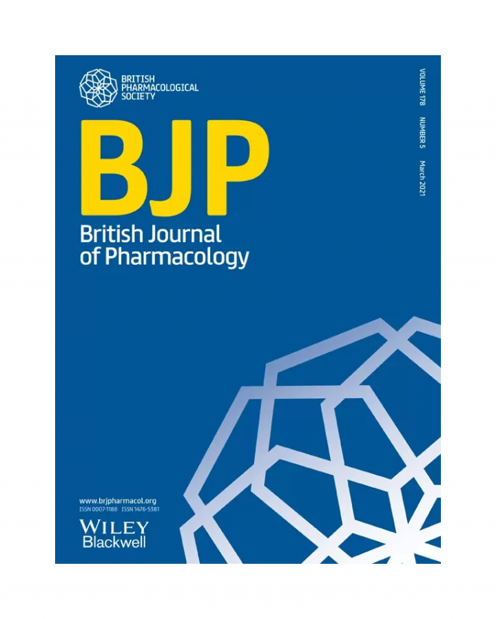 March 2021 Cover of British Journal of Pharmacology