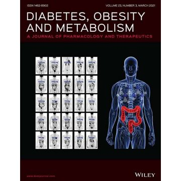 Diabetes Obesity Metabolism cover March 2021 - Roussel