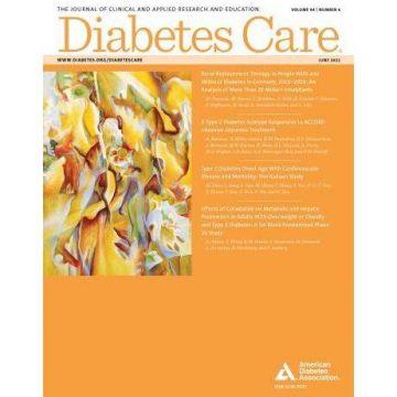 Diabetes Care June 2021 cover