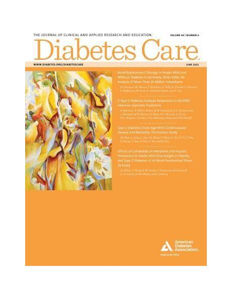 JB. Julla publishes in Diabetes Care